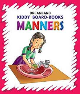 Kiddy Board Book - Manners