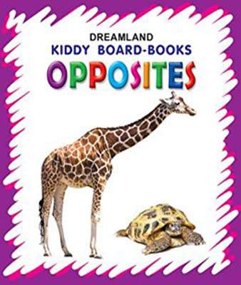 Kiddy Board Book - Opposites
