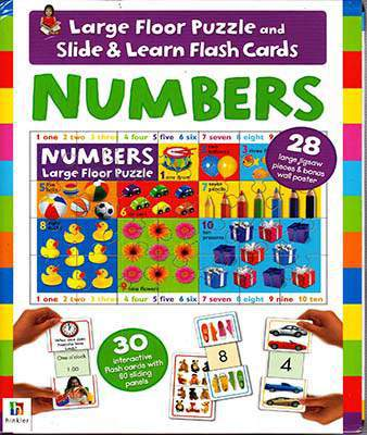 Numbers Floor Puzz Flashcard Db
