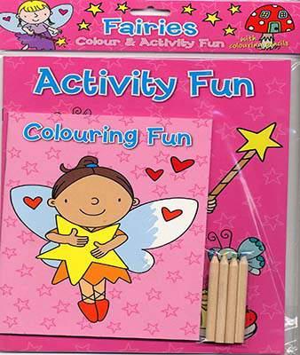 Colour & Activity Fun Fairies (Colour & Activity Fun Packs)