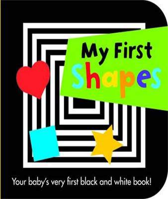 My First Shapes Black & White Board Books