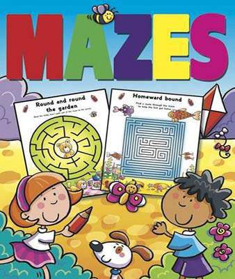 Mazes Colouring Activites Mazes Shiny Activity
