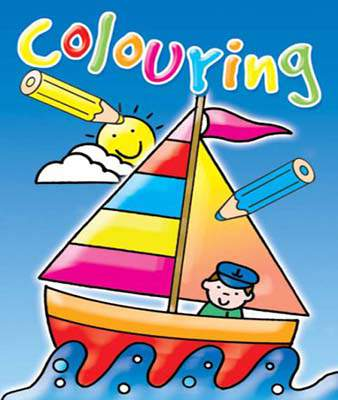 COLOURING FUN:DARK BLUE (Colouring Book)