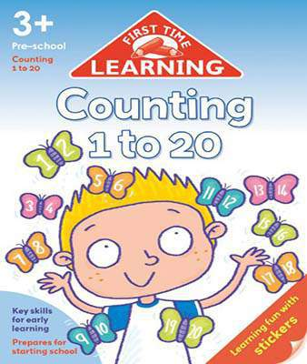 First Time Learning Counting 1 To 20 -