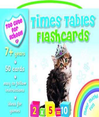 Times Table Flashcards (Too Cute for School)