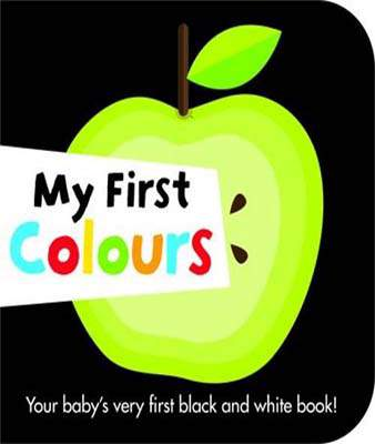 My First Colours Black & White Board Books