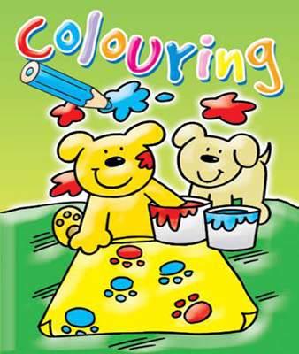 COLOURING FUN:GREEN (Colouring Book)