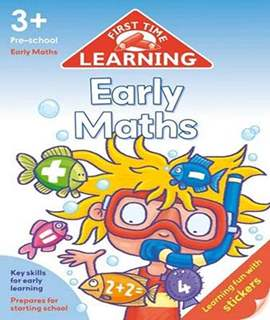 First Time Learning Early Maths  -  Paperback