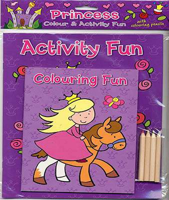 Princess Colour & Activity Fun (Colour & Activity Fun Packs)