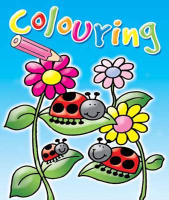 COLOURING FUN:BLUE (Colouring Book)