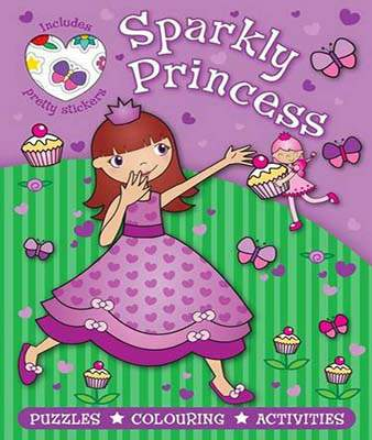 Sparkly Princess Purple (Puzzle Sticker Books)  -