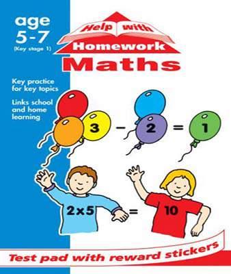 HELP WITH HOMEWORK MATHS PAD (Help With Homework Test Pads)