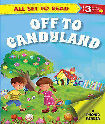 All Set To Read Off To Candyland Level 3