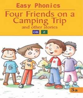 Four Friends on a Camping Trip (Easy Phonics)