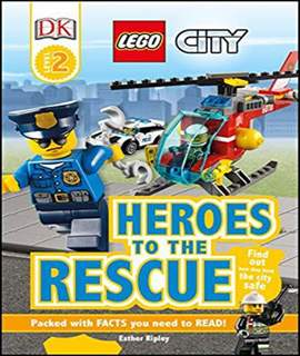 DK Readers L2: LEGO City: Heroes to the Rescue  -