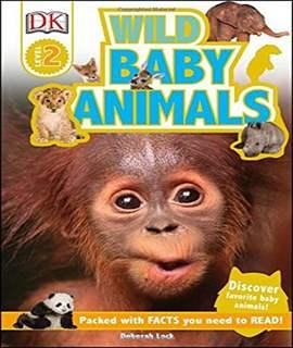 DK Readers L2: Wild Baby Animals    -