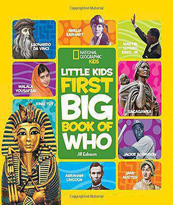 National Geographic Little Kids First Big Book of Who (Little Kids Big Book)