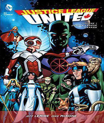 Justice League United TP Vol 1 Justice League Canada