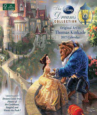 Thomas Kinkade: The Disney Dreams Collection 2017 Wall Calendar