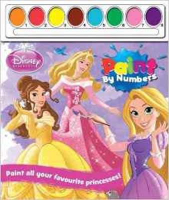 Disney Princess Paint by Numbers (Paint By Numbers X 4)