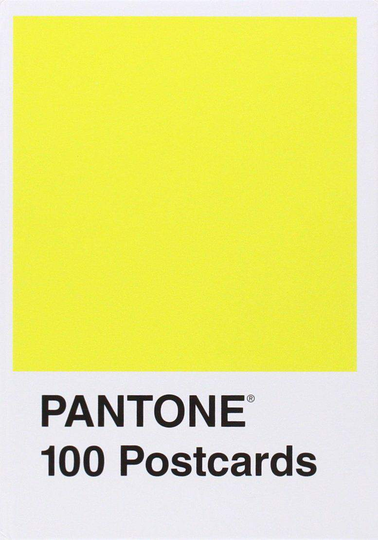 Pantone Postcard Box 100 Postcards Card Book
