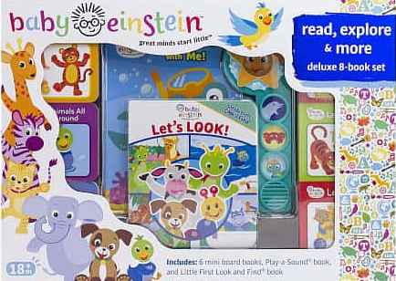 Baby Einstein Read Explore and More Deluxe 8-Book Set