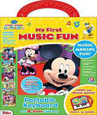 Disney Mickey Mouse Clubhouse My First Music Fun Portable Keyboard Library Set