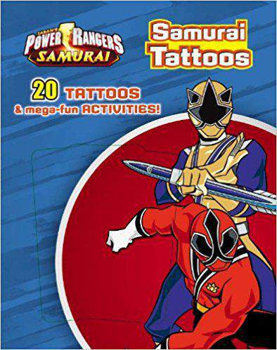 Power Rangers Tattoo Book