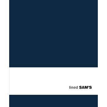 Sam's 15x18 Lined Blue Notebook