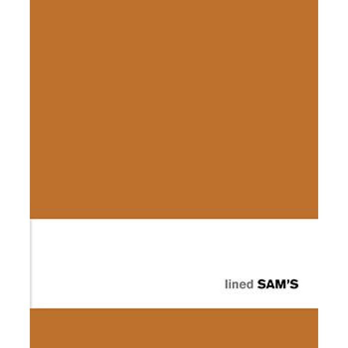 Sam's 15x18 Lined Orange -