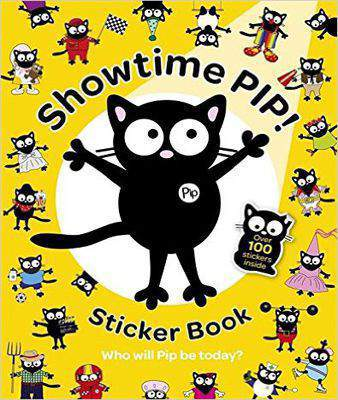 Showtime Pip! Sticker Book (My Cat Pip)