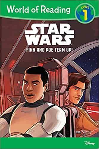 Star Wars: Finn & Poe Team Up! (World of Reading: Level 1)