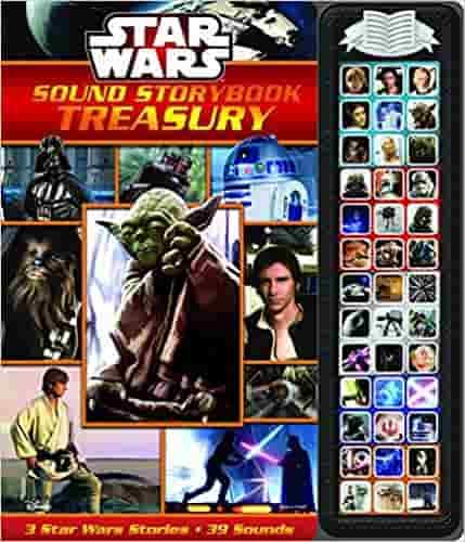 Star Wars Saga Little Sound Book Light Saber