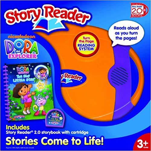 Story Reader 2.0 with Dora the Explorer Storybook