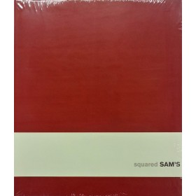 Sam's 15x18 Squared Red Notebook
