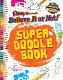 Super Doodle Book Ripley's Believe It or Not! Kids