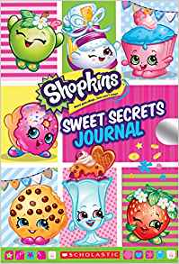 Sweet Secrets Journal Shopkins Locking Journal
