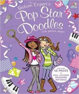 The Fashion Expert's Pop Star Doodles (Doodle Experts)