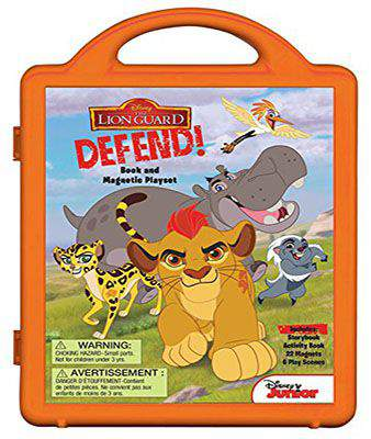 The Lion Guard Lion Guard, Defend!: Book and Magnetic Playset -