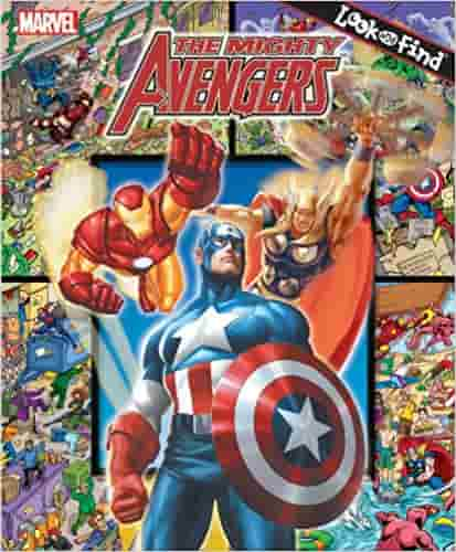 THE MIGHTY AVENGERS (Look and Find)
