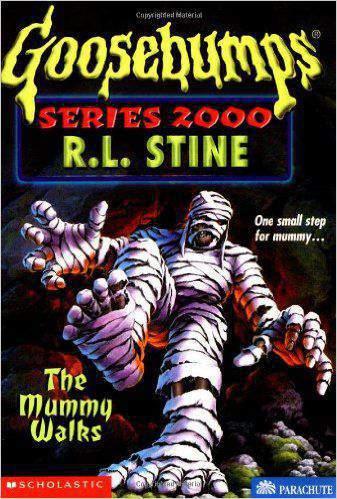 The Mummy Walks (Goosebumps Series 2000)