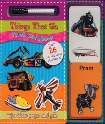 Things That Go - Flash Card Book