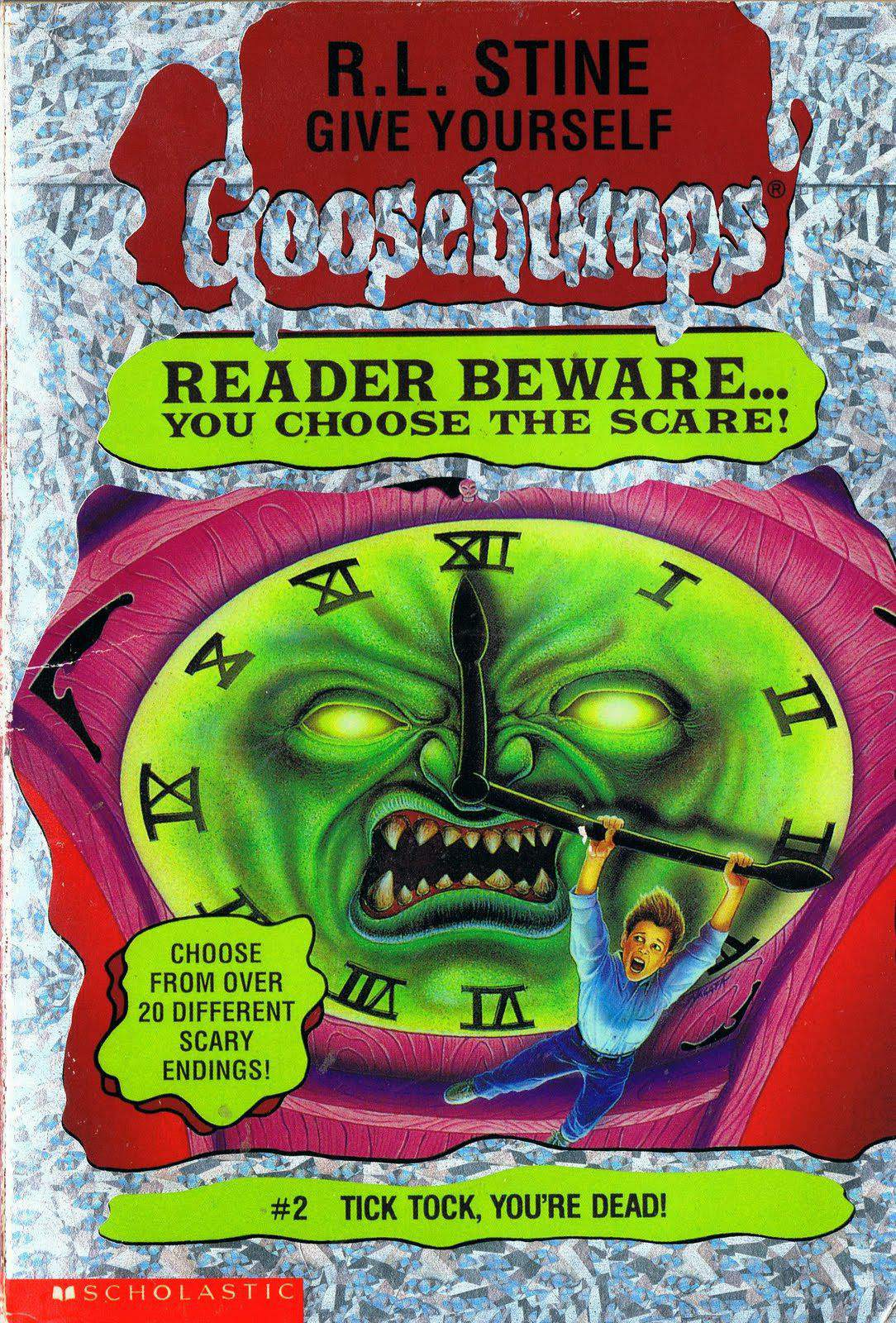 Tick Tock, You're Dead! (Give Yourself Goosebumps #2)