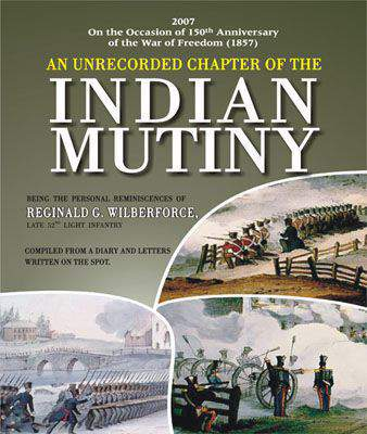 UNRECORDED CHAPTER OF THE INDIAN MUTINY