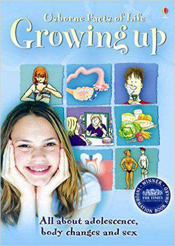 Usborne Facts of Life Growing Up All about Adolescence body changes and sex
