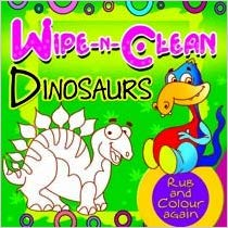 Wipe And Clean Dinosaurs