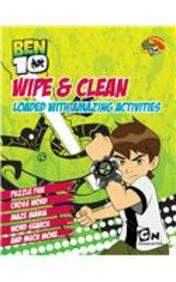 Ben 10 Wipe And Clean Loaded With Amazing Activities