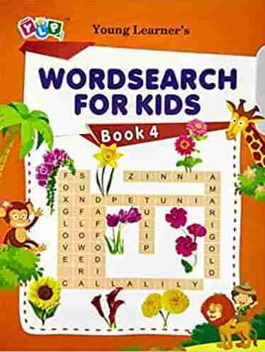 Word search for Kids Book 4