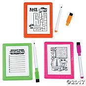 Write-and-Erase Board Blister Box Indigo - Dena Designs