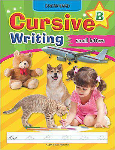 Dreamlands Cursive Writing Book Part B Small Letters